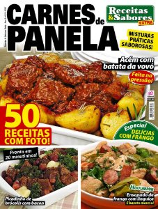 RECEITAS & SABORES EXTRA - EDIÇÃO 15 - CARNES DE PANELA (2017)