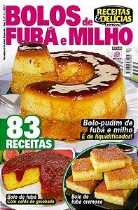 RECEITAS & DELÍCIAS ESPECIAL - EDIÇÃO 17 - BOLOS DE FUBÁ E MILHO (2017)