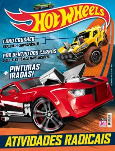 KIT 1 - HOT WHEELS (4 REVISTAS)