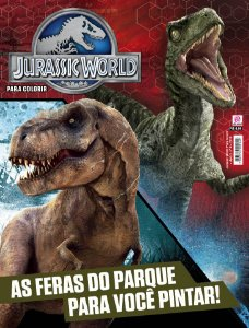 KIT 2 - JURASSIC WORLD (3 REVISTAS)