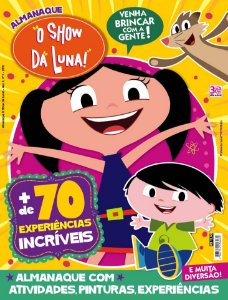 KIT 1 - O SHOW DA LUNA! (3 REVISTAS)