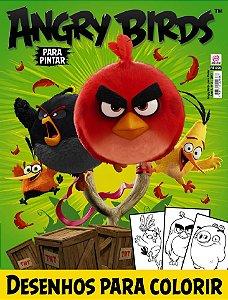 ANGRY BIRDS PARA PINTAR - EDIÇÃO 2 (2017)