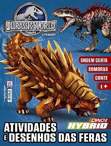 JURASSIC WORLD ATIVIDADES - EDIÇÃO 3 (2017)