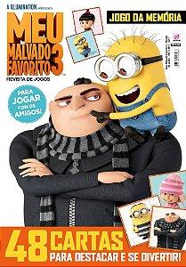 MEU MALVADO FAVORITO 3 - REVISTA DE JOGOS - EDIÇÃO 1 (2017)