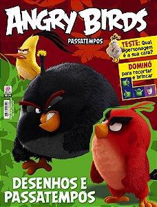 ANGRY BIRDS PASSATEMPOS - EDIÇÃO 3 (2017)
