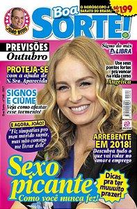 BOA SORTE - EDIÇÃO 348 - OUTUBRO 2017