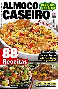 RECEITAS & DELÍCIAS SELECIONADAS - EDIÇÃO 28 - ALMOÇO CASEIRO (2017)