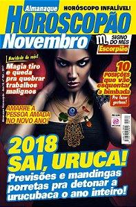 ALMANAQUE HOROSCOPÃO - EDIÇÃO 184 - NOVEMBRO 2017
