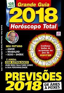 GRANDE GUIA - HORÓSCOPO TOTAL DE JOÃOBIDU 2018