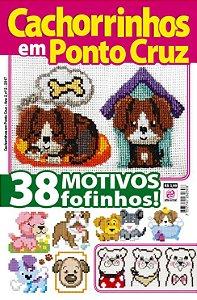 CACHORRINHOS EM PONTO CRUZ - EDIÇÃO 2 (2017)