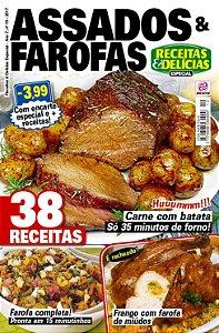 RECEITAS & DELÍCIAS ESPECIAL - EDIÇÃO 19 - ASSADOS & FAROFAS (2017)