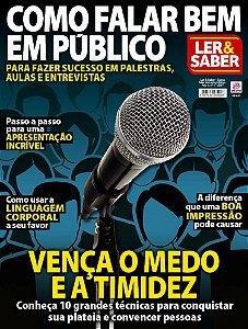 LER & SABER - COMO FALAR BEM EM PÚBLICO - EDIÇÃO 1 (2017)