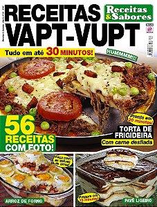 RECEITAS & SABORES - EDIÇÃO 30 - RECEITAS VAPT-VUPT (2017)