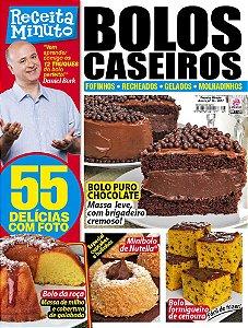RECEITA MINUTO - EDIÇÃO 25 - BOLOS CASEIROS (2017)