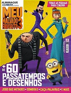ALMANAQUE MEU MALVADO FAVORITO 3 - EDIÇÃO 2 (2017)