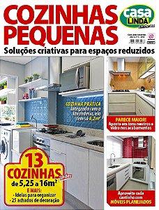 CASA LINDA AMBIENTES - EDIÇÃO 8 - COZINHAS PEQUENAS (2017)