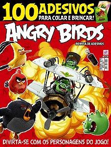ANGRY BIRDS - REVISTA DE ADESIVOS - EDIÇÃO 1 (2017)