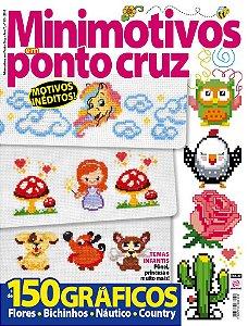MINIMOTIVOS EM PONTO CRUZ - EDIÇÃO 13 (2018)