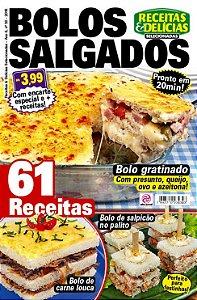 RECEITAS & DELÍCIAS SELECIONADAS - EDIÇÃO 30 - BOLOS SALGADOS (2018)