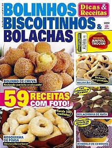 DICAS & RECEITAS - EDIÇÃO 10 - BOLINHOS, BISCOITINHOS E BOLACHAS (2018)