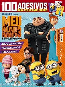 MEU MALVADO FAVORITO 3 - REVISTA DE ADESIVOS - EDIÇÃO 2 (2018)
