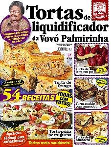DELÍCIAS DA VOVÓ PALMIRINHA - EDIÇÃO 39 - TORTAS DE LIQUIDIFICADOR (2018)