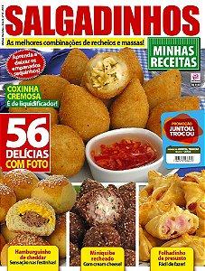 MINHAS RECEITAS - EDIÇÃO 10 - SALGADINHOS (2018)