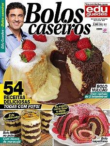 NA COZINHA COM EDU GUEDES - EDIÇÃO 54 - BOLOS CASEIROS (2018)