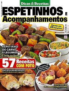 DICAS & RECEITAS - EDIÇÃO 11 - ESPETINHOS E ACOMPANHAMENTOS (2018)