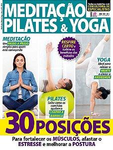 MEDITAÇÃO, PILATES E YOGA - EDIÇÃO 1 (2018)