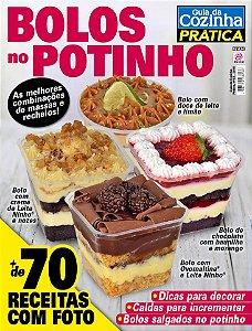 GUIA DA COZINHA PRÁTICA - EDIÇÃO 63 - BOLOS NO POTINHO (2018)
