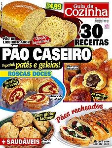 GUIA DA COZINHA - EDIÇÃO 122 - PÃO CASEIRO (2018)