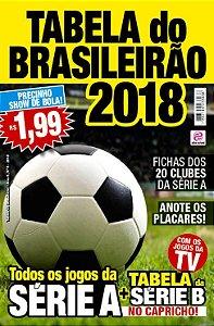 TABELA DO BRASILEIRÃO - EDIÇÃO 6 - BRASILEIRÃO 2018