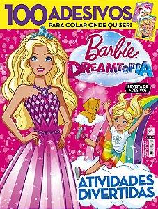 BARBIE DREAMTOPIA REVISTA DE ADESIVOS - EDIÇÃO 1 (2018)
