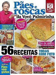 COZINHA DA VOVÓ PALMIRINHA - EDIÇÃO 37 - PÃES E ROSCAS (2018)