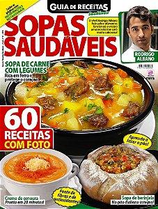 GUIA DE RECEITAS SAUDÁVEIS - EDIÇÃO 21 - SOPAS SAUDÁVEIS (2018)