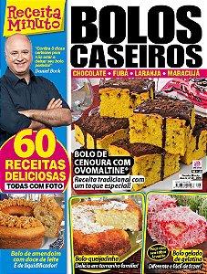 RECEITA MINUTO - EDIÇÃO 28 - BOLOS CASEIROS (2018)