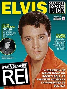 GRANDES ÍDOLOS DO ROCK - EDIÇÃO 3 - ELVIS (2018)