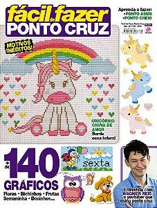 FÁCIL DE FAZER PONTO CRUZ - EDIÇÃO 86 (2018)