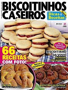 DICAS & RECEITAS EXTRA - EDIÇÃO 17 - BISCOITINHOS CASEIROS (2018)