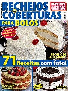 RECEITAS CASEIRAS - EDIÇÃO 12 - RECHEIOS E COBERTURAS (2018)