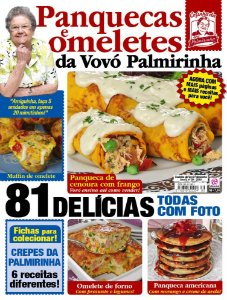 COZINHA DA VOVÓ PALMIRINHA - EDIÇÃO 39 - PANQUECAS E OMELETES (2018)