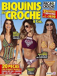 FAÇA JÁ CROCHÊ ESPECIAL - EDIÇÃO 3 - BIQUÍNIS DE CROCHÊ (2018)