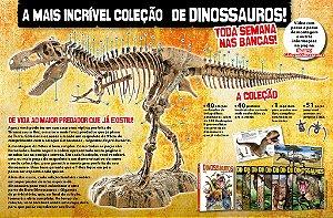 Dinossauros Gigantes da Pré-História - Lotes Individuais - PARCELE NO CARTÃO