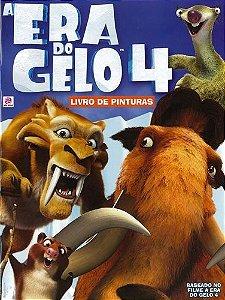 A ERA DO GELO 4 - LIVRO DE PINTURAS
