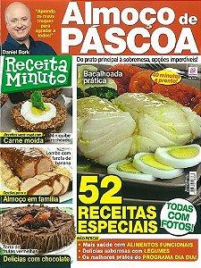 RECEITA MINUTO - 8 ALMOÇO DE PÁSCOA (2015)