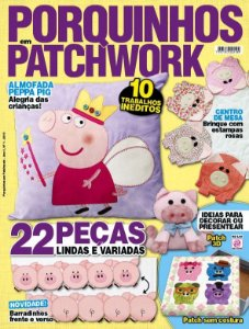 PORQUINHOS EM PATCHWORK - 1 (2015)
