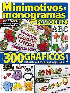 MINIMOTIVOS E MONOGRAMAS EM PONTO CRUZ - 8 (2015)