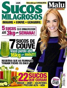 MALU ESPECIAL 17 - SUCOS MILAGROSOS (2015) RELEITURA
