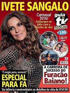 GUIA DA TEVÊ ÍDOLOS 8 - IVETE SANGALO (2015)